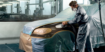 BMW Bodywork & Paint.